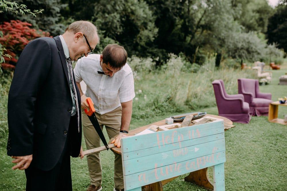 Gästebetreuung mit Grant Hochzeit